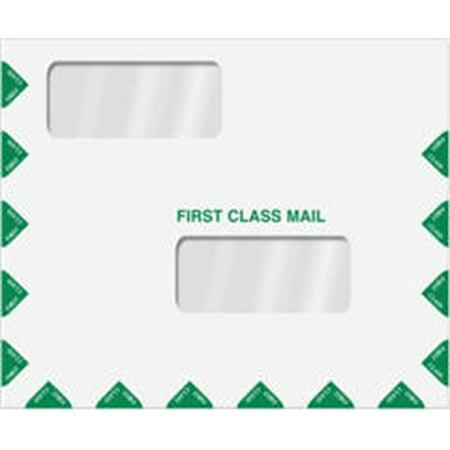 Double Window Tax Return Envelope