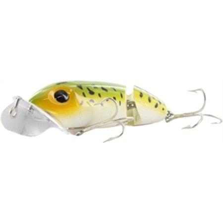 G620 Arbogast Jointed Jitterbug 3/8 oz Frog/White Belly Fishing Lure - Jitterbug Fishing Lure
