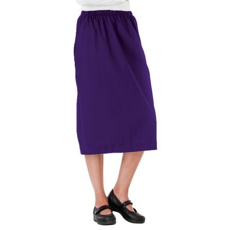 White Swan Elastic Waist Scrub Skirt ()