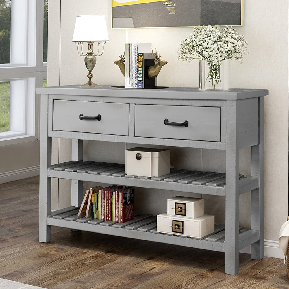 Console Tables for Entryway, Stylish Solid Wood Entryway ...