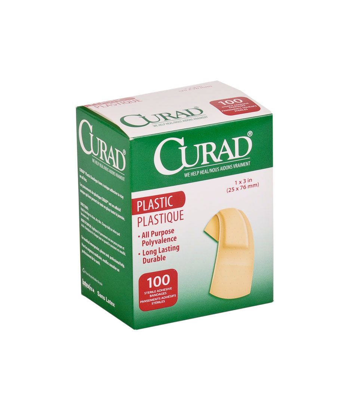 CURAD Plastic Adhesive Bandages - NON25600Z