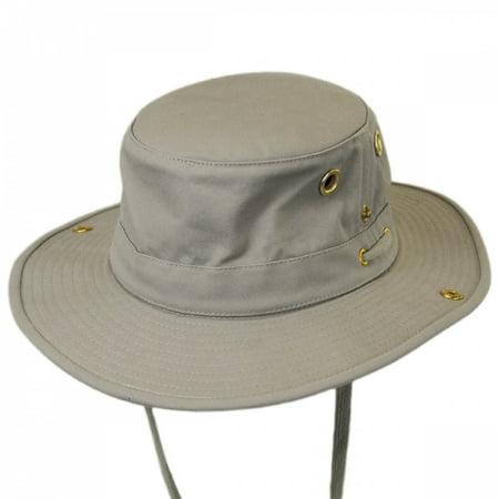 b2c806ba Tilley Size 6 7/8 Unisex T3 Cotton Duck Snap-up Brim Hat, Khaki -  Walmart.com