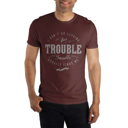 Harry Potter and the Prisoner of Azkaban I Don't Go Looking For Trouble. Trouble Usually Finds Me. Women's Red Tee T-Shirt Shirt