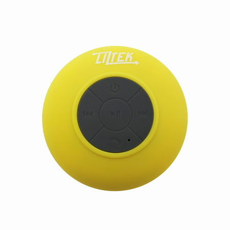 Liztek HD Water Resistant Bluetooth Shower Speaker