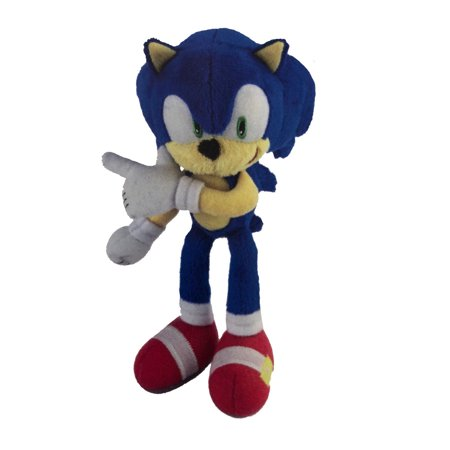 Plush Toy - Sonic the Hedgehog - Modern Sonic - 8 Inch - Finger Points Right](Sonic The Hedgehog Girls)