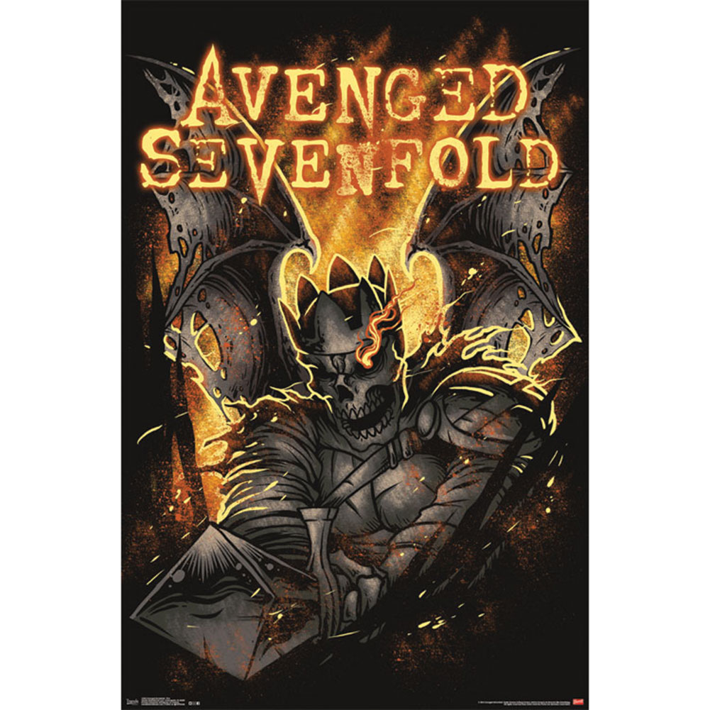 Avenged Sevenfold - Domestic Poster
