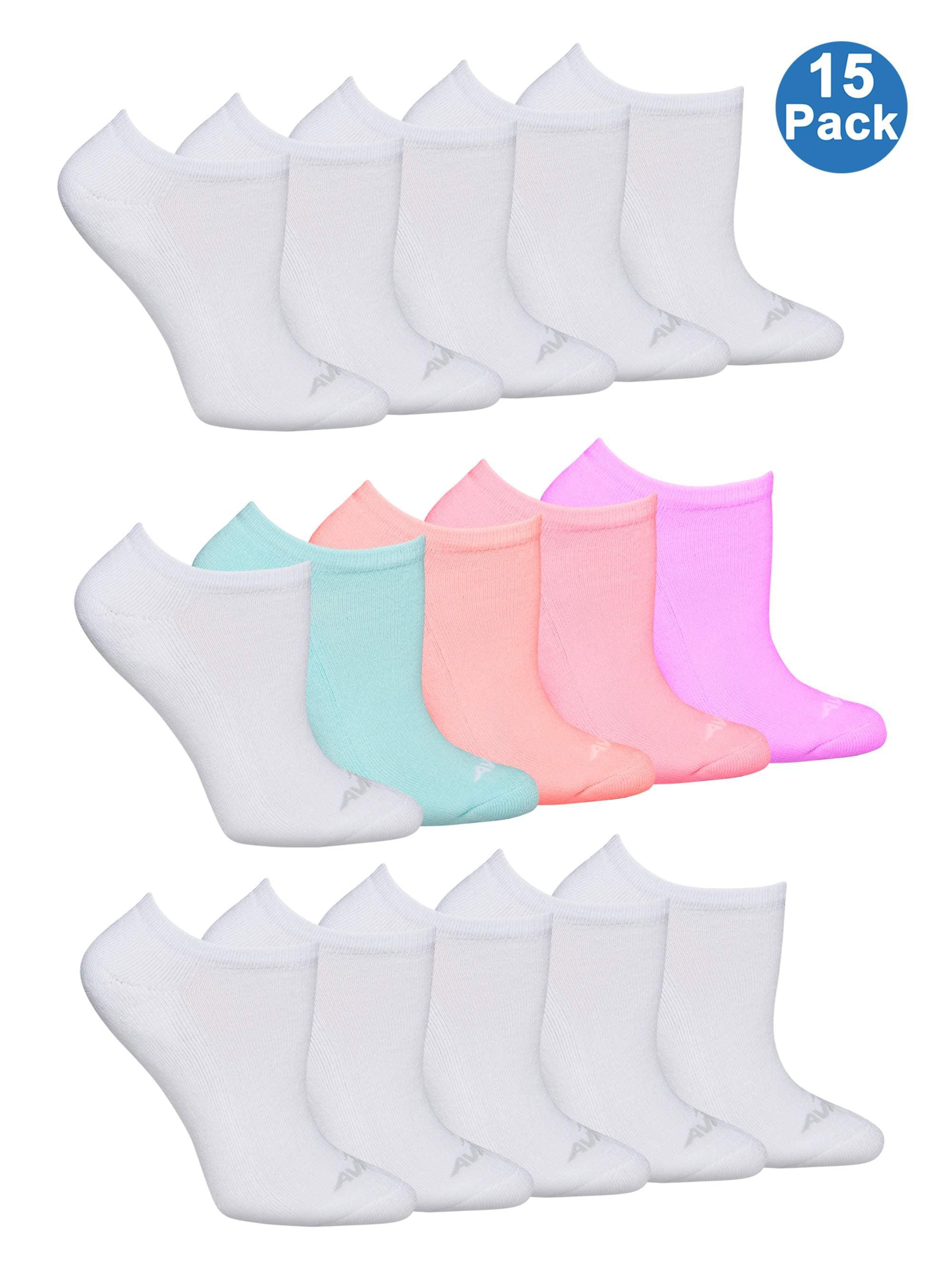 Avia Ladies No Show Sock, 15 Pack