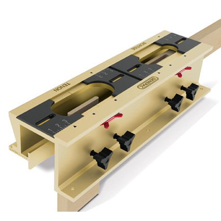 Mortise and Tenon Joint Jig for Router Wood Mortice Mortising Template Guide Kit - Mortise And Tenon