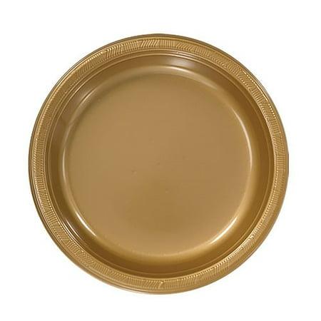 Hanna K Plasticware Plastic Plate, Round, 7