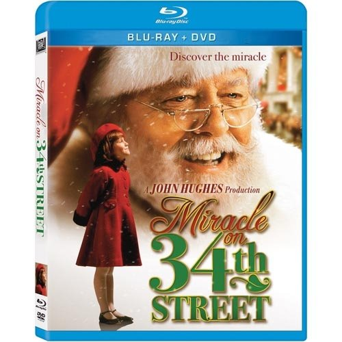 Miracle On 34th Street (1994) (Blu-ray + DVD) (Widescreen)