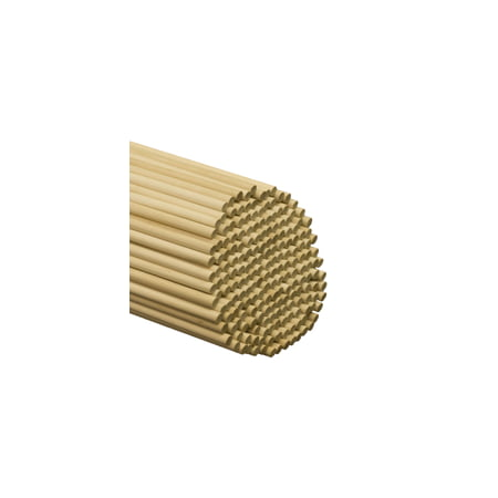 "100 Pcs 3/8"" x 48"" Birch Dowels A quality dowel begins with quality lumber. Our dowels are made from select Birch and Maple."
