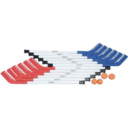 S&S Worldwide Spectrum Elementary Floor Hockey Set, 36