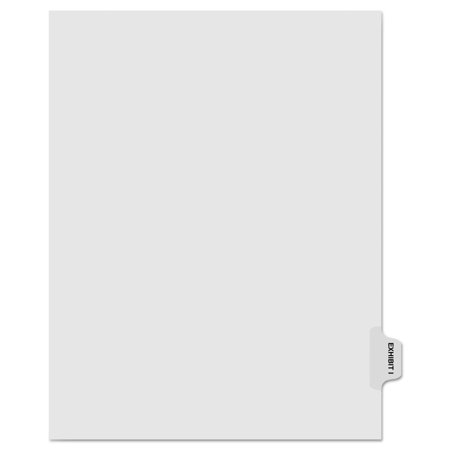 - 80000 Series Legal Index Dividers, Side Tab, Printed