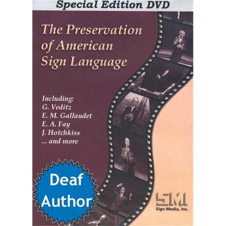 Cicso Independent Dvd297 The Preservation Of American Sign Language   Dvd