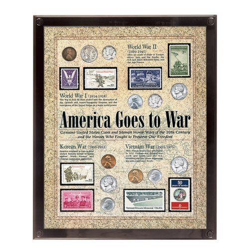 American Coin Treasures America Goes to War Framed Memorabilia