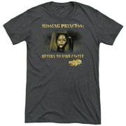 Mirrormask Missing Princess Mens Tri-Blend Short Sleeve Shirt
