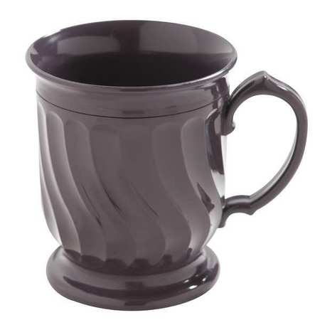 CARLISLE DINEX DX300068 Mug, Insulated, H 4 In, Plum, PK 48