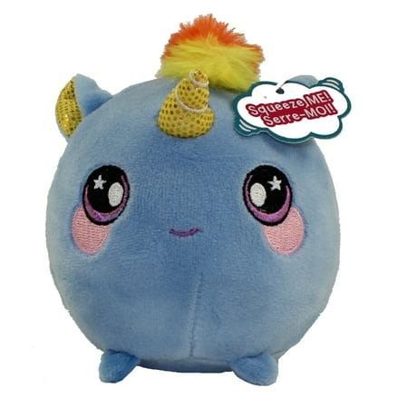 License 2 Play - Squeezamals Scented Plush S2 - BEATRICE the Blue Unicorn (Small - 3.5 inch)](Blue Nose Friends Unicorn)