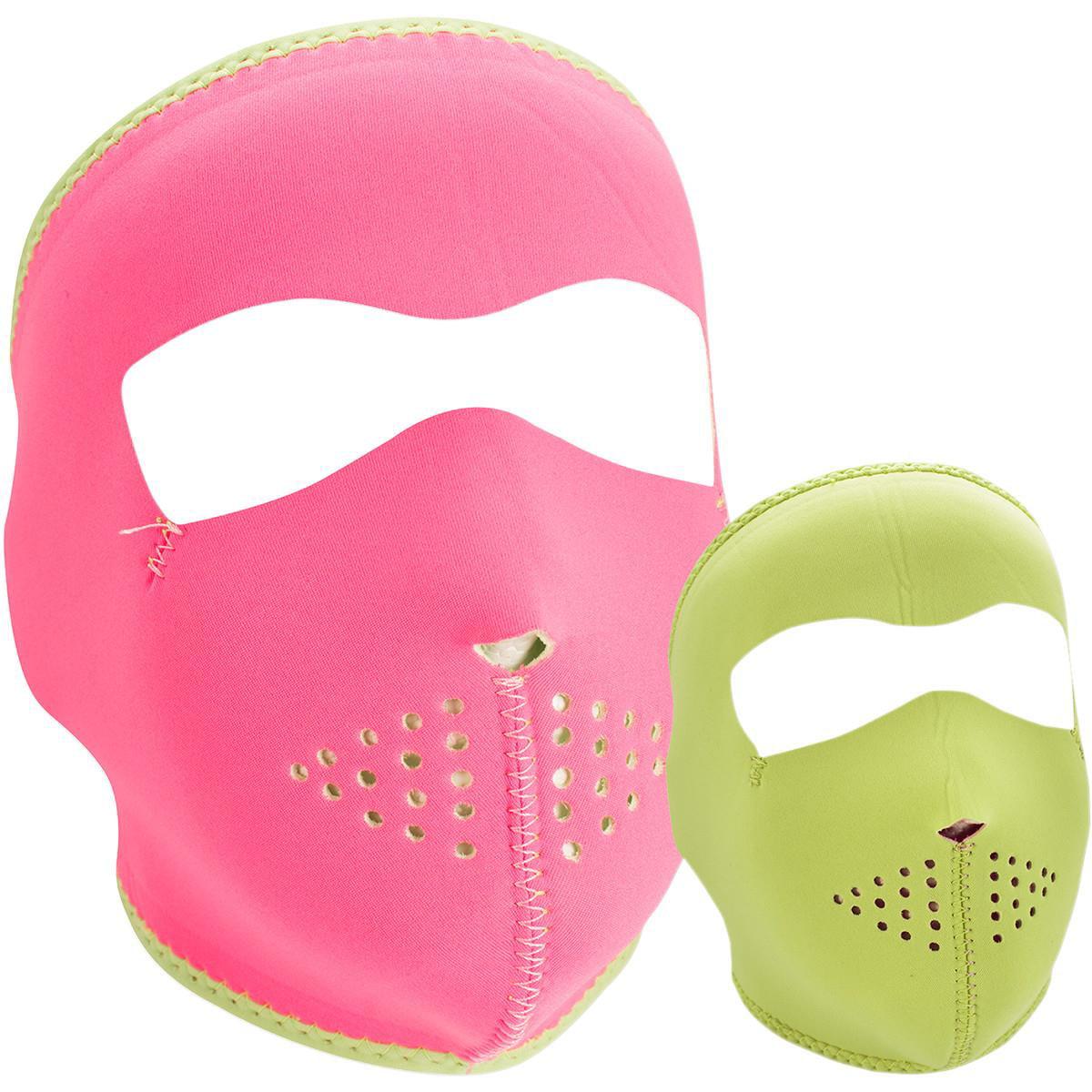 Zan Headgear Full Face Mask (Black, OSFM) by Zan Headgear