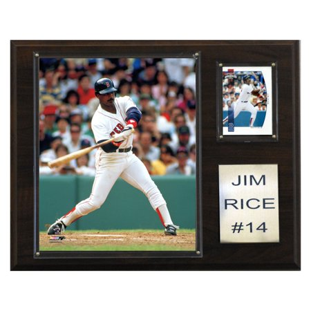 - C&I Collectables MLB 12x15 Jim Rice Boston Red Sox Player Plaque