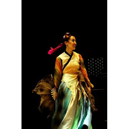 Traditional Dancing (LAMINATED POSTER Republic Of Korea Dancing Dance Traditional Poster Print 24 x)