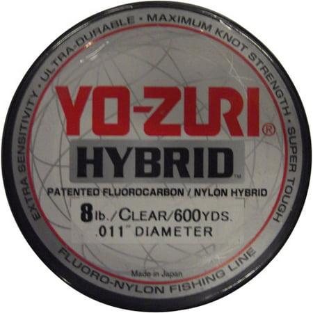 Yo-Zuri America Clear Hybrid Line, 600 yds 50 Yds Fishing Line