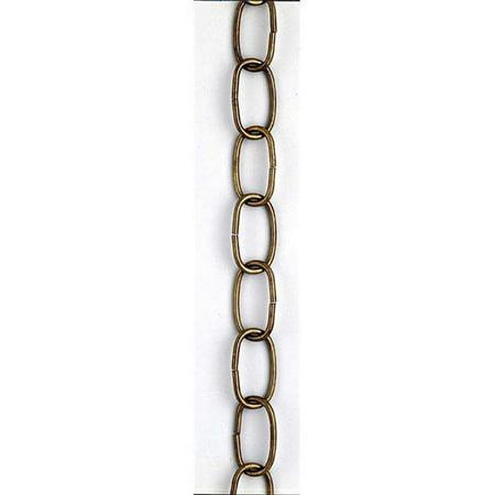 Decorative Chain - 3 ft. Brass Decorative Oval Chain