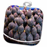 3dRose Fresh Figs - Pot Holder, 8 by 8-inch