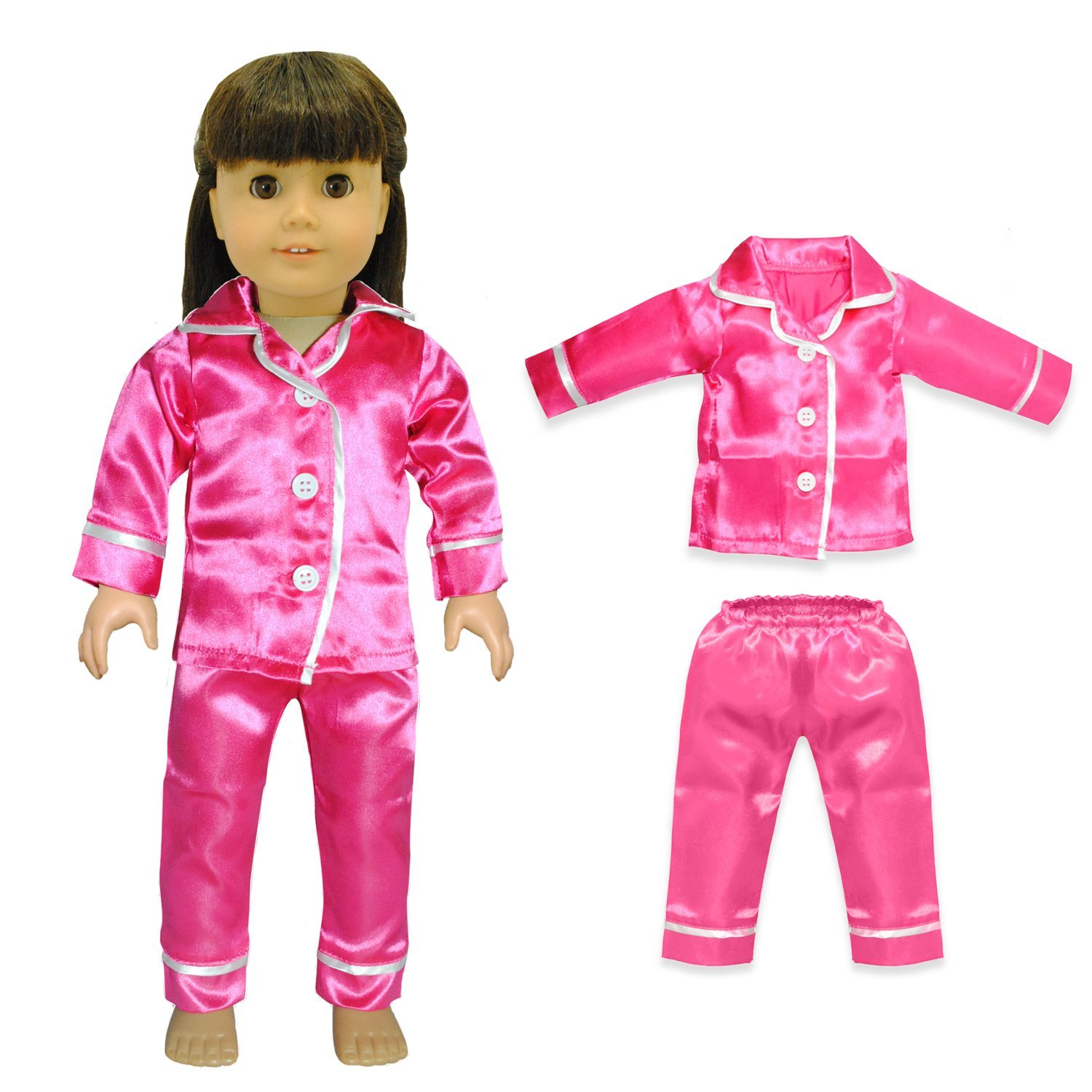 Cute Pajamas PJS Nightgown Clothes for 18 inch Our