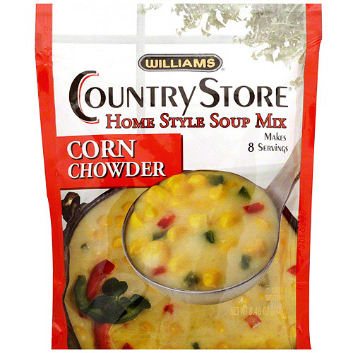 Williams Corn Chowder Soup Mix, 8.4 oz (Pack of 6)
