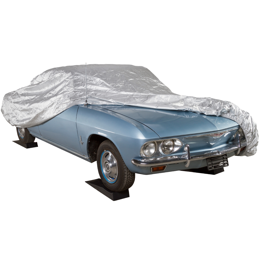 """16'9"""" to 19"""" Universal Fit 210D Car Cover"""
