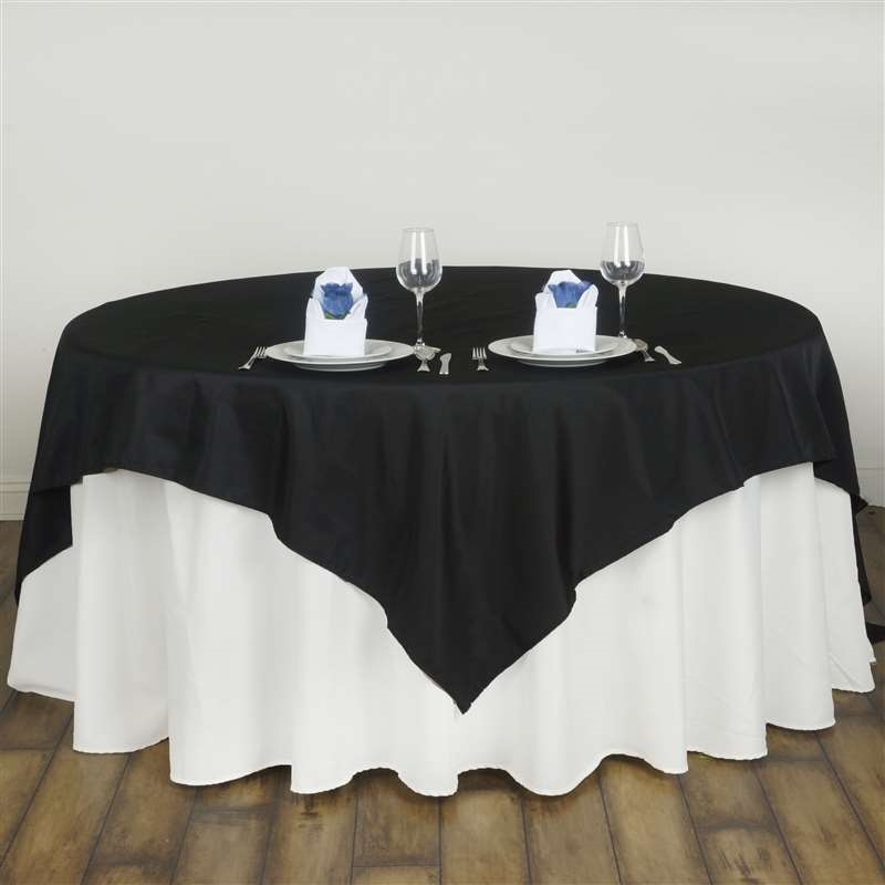 """BalsaCircle 90"""" x 90"""" Square Polyester Table Overlays Wedding Party Reception... by BalsaCircle"""