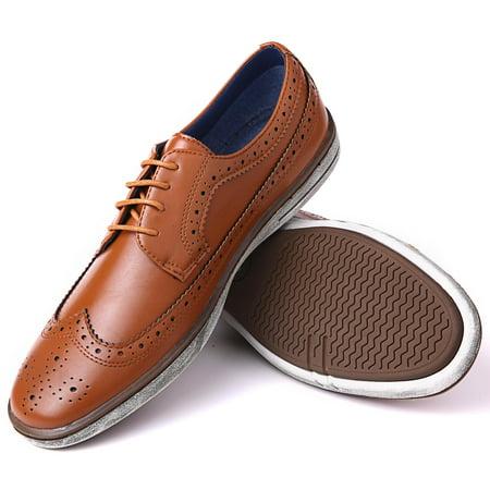 416cf157cddc Mio Marino - Mio Marino Mens Dress Shoes - Fashion Casual Oxford ...