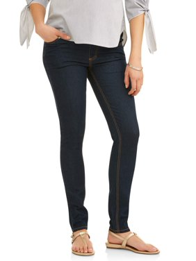 Maternity Oh! Mamma Skinny Jeans with Demi Panel (Available in Multiple Colors)