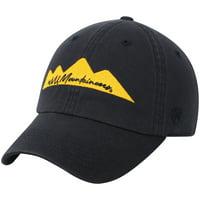 West Virginia Mountaineers Top of the World Women's Script Logo Adjustable Hat - Navy - OSFA