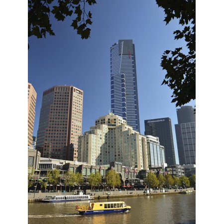 Melbourne Central Business District (Cbd) and Yarra River, Victoria, Australia, Pacific Print Wall Art By Jochen (Melbourne Central Store)