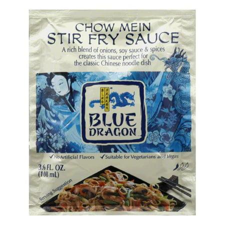 Blue Dragon Chow Mein Stir Fry Sauce, 3.6 Oz (Pack of
