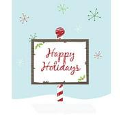 Secretly Designed Holiday Paper Print