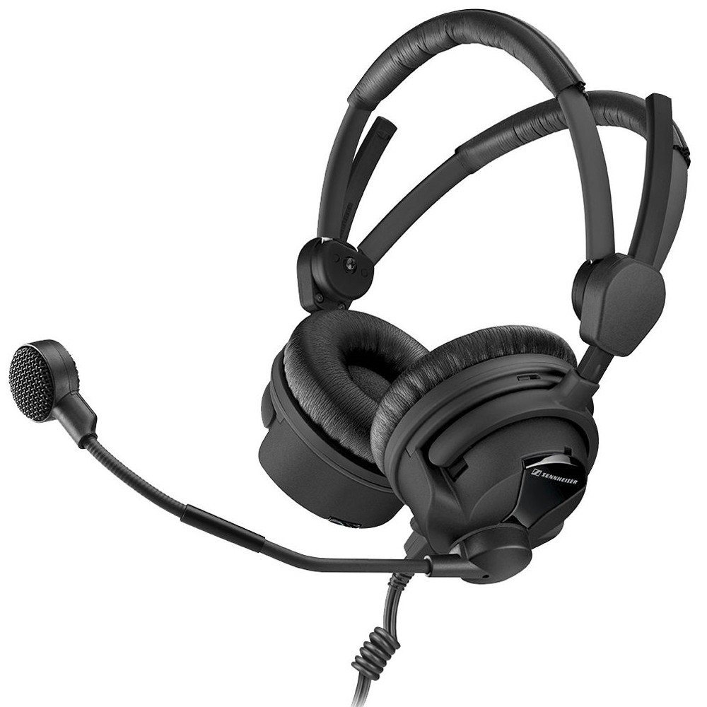 Sennheiser HMD 26-600-II-XQ On-Ear Stereo Broadcast Headset with microphone by Sennheiser