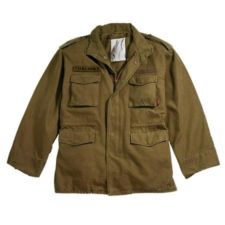 Vintage M-65 Field Jacket - Russet Brown - Size Large