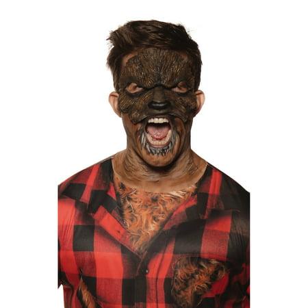 Werewolf Mask Halloween Costume Accessories - One Size