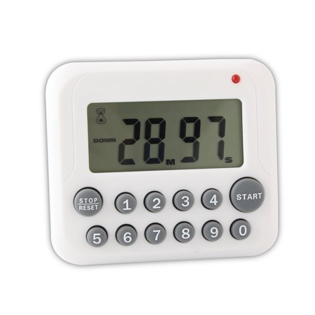 Portable Large LCD Display Digital Kitchen Timer,Count Down Timer, Count Up Timer](Bookmark Timer)