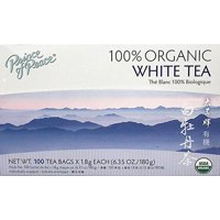 Prince of Peace Organic White Tea, 100 Tea Bags Per Box Count