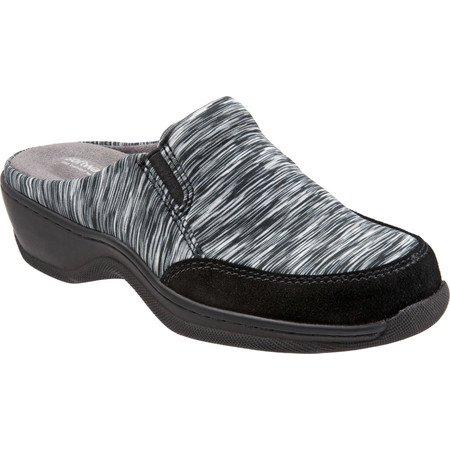 Women's SoftWalk Alcon Clog Black/Grey Textile 12 N - image 3 of 8