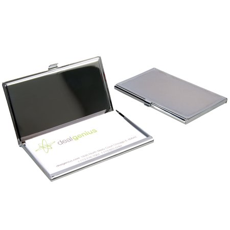 2 travel pocket business card holders cases portable engravable 2 travel pocket business card holders cases portable engravable chrome finish colourmoves