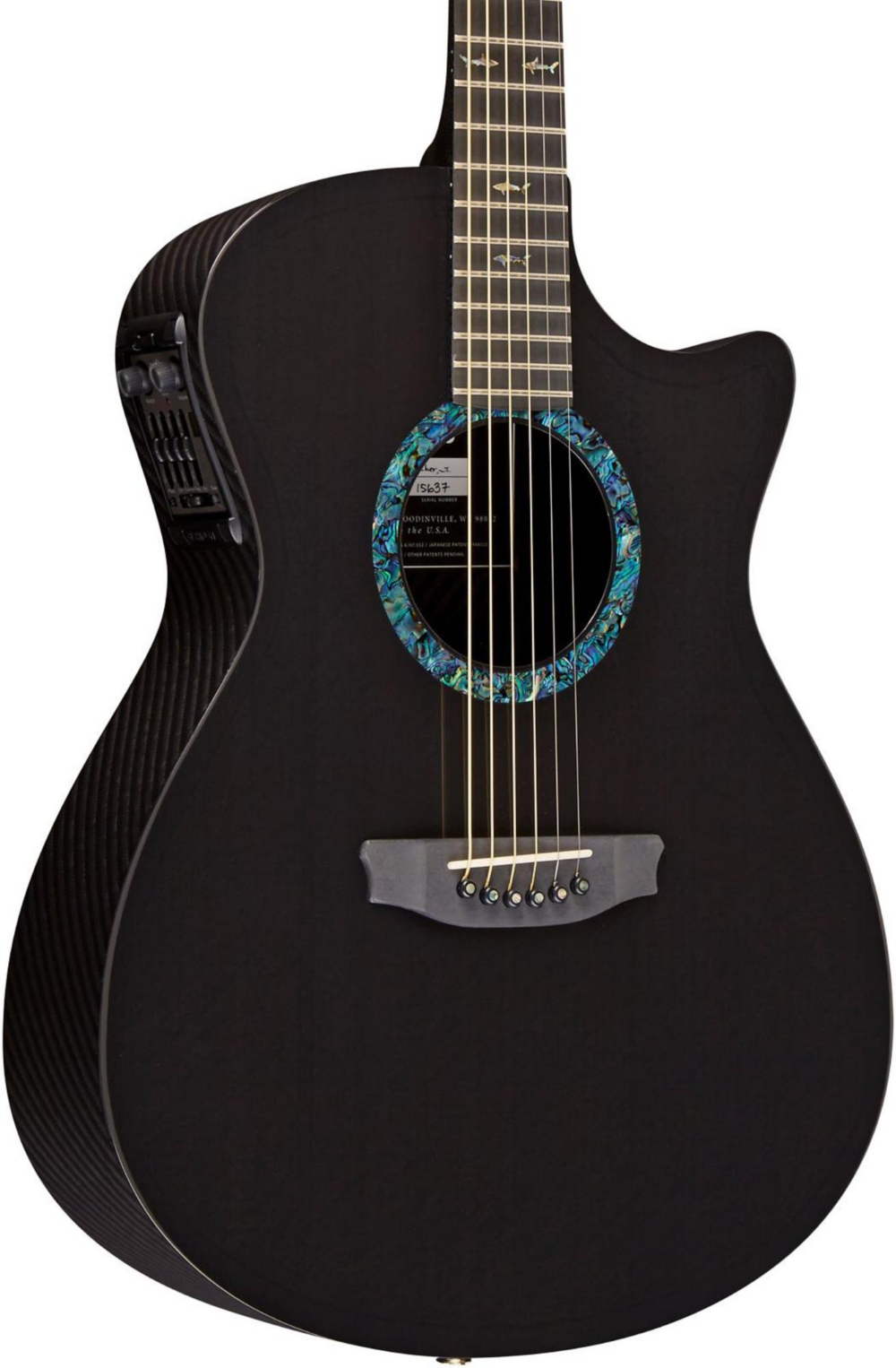 RainSong Concert Series Orchestra Acoustic-Electric Guitar Graphite by RainSong