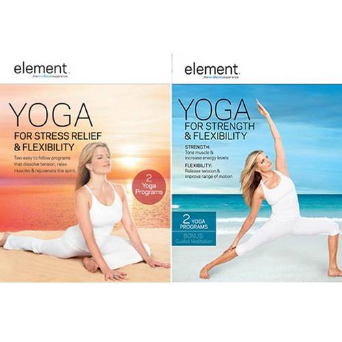 Element: Yoga For Stress Relief & Flexibility / Element: Yoga For Strength & Flexibility (Walmart Exclusive) (Widescreen, WALMART EXCLUSIVE)