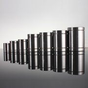 1Pcs LM8UU 8mm 1Pcs Silver Linear Ball Bearing Bushing