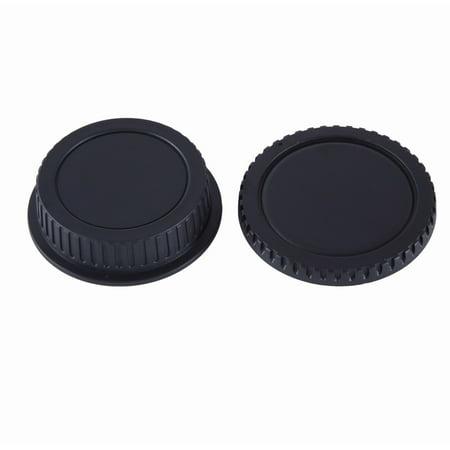Movo Photo Lens Mount Cap and Body Cap for Canon EOS DSLR Camera Canon Eos Camera Body Cap