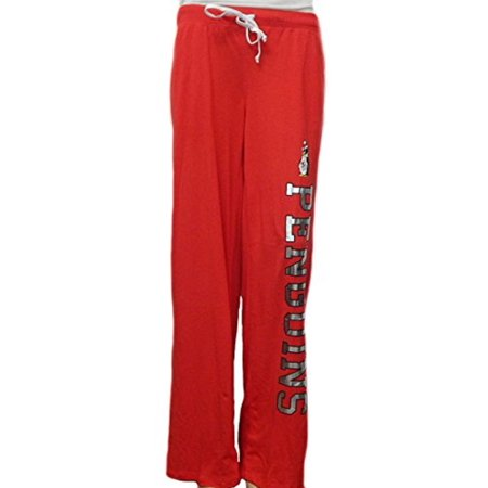 Youngstown State Penguins Pajama Lounge Sleep Yoga Pants with Foil Logo (Large) Penguin Pajama Pants